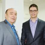 Founder Nikola Loncar and President TNF Nenad Portic