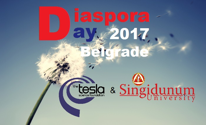 Welcome! Join us on the Diaspora Day! Belgrade – Serbia 2017
