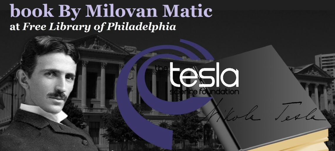 "Presentation of the new ""Tesla"" book By Milovan Matic"