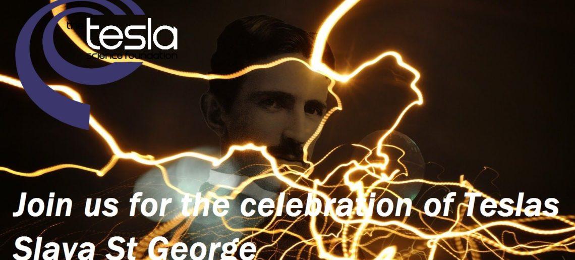 Join us for the celebration of Teslas Slava St George
